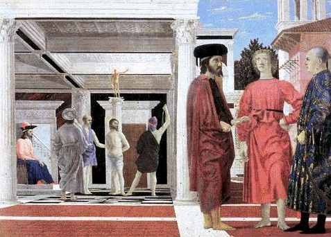 Flagellation du Christ de P della Francesca